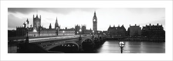 London, England Reproduction de Tableau