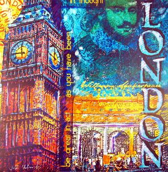 London Reproduction de Tableau