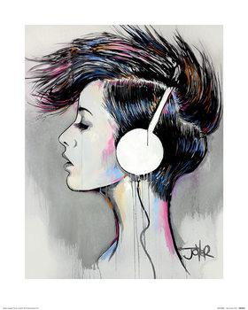 Loui Jover - Inner Beat Reproduction de Tableau