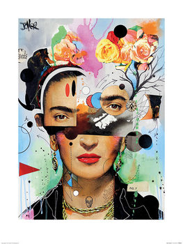 Loui Jover - Kahlo Anaylitica Reproduction de Tableau