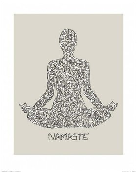 Louise Tate - Namaste Reproduction de Tableau
