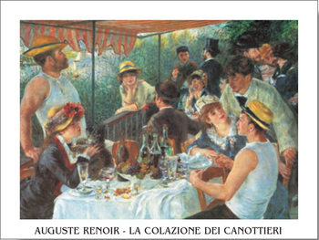 Luncheon of the Boating Party, 1880-81 Reproduction de Tableau