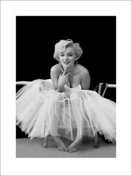 Marilyn Monroe - ballerina Reproduction d'art