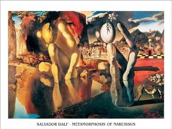 Reproduction d'art Metamorphosis of Narcissus, 1937