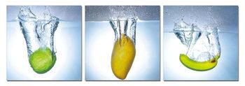Modern design - fruit Tableau Multi-Toiles