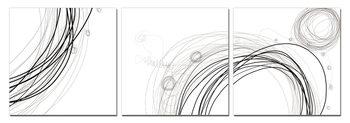 Modern Design - Lines Tableau Multi-Toiles