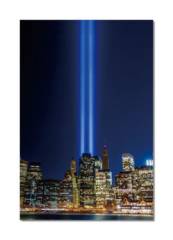 New York - Tribute in Light Tableau Multi-Toiles