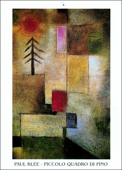 P.Klee - Piccolo Quadro Di Pino Reproduction de Tableau