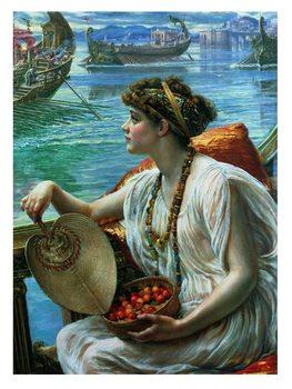 Poynter - A Roman Boat Race Reproduction de Tableau