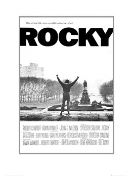 Rocky one sheet Reproduction d'art