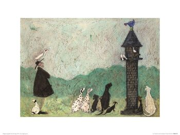 Reproduction d'art Sam Toft - An Audience with Sweetheart