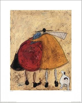 Sam Toft - Hugs On The Way Home Reproduction de Tableau