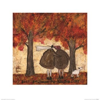 Reproduction d'art Sam Toft - Just Beginning To See The Light