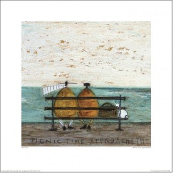 Sam Toft - Picnic Time Approacheth Reproduction de Tableau