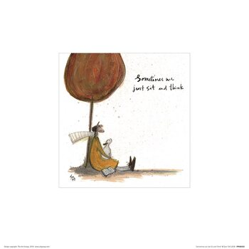 Reproduction d'art Sam Toft - Sometimes We Just Sit and Think