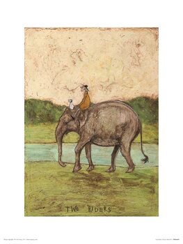 Reproduction d'art Sam Toft - Tow Riders