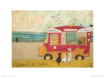 Reproduction d'art Sam Toft - Waiting for Mr Lollyice