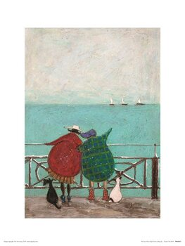 Reproduction d'art Sam Toft - We Saw Three Ships Come Sailing By
