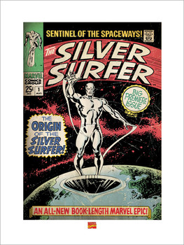 Silver Surfer Reproduction d'art