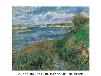 Reproduction d'art The Banks of the Seine at Champrosay, 1876