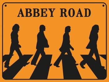 The Beatles - Abbey Road Reproduction de Tableau