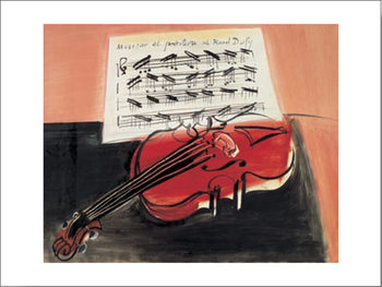 The Red Violin, 1966 Reproduction d'art