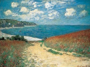 Wheat Field, Pourville Reproduction de Tableau
