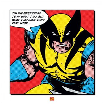 Wolverine - I'm The Best Reproduction d'art