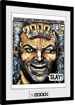 Afiș înrămat 2000 AD - Slay