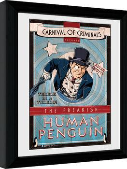 Batman Comic - Circus Human Penguin Afiș înrămat