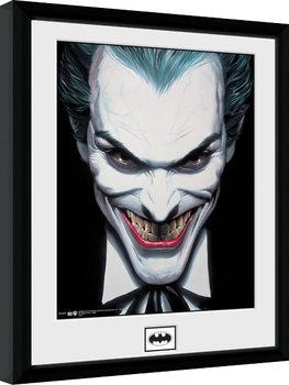 Batman Comic - Joker Smile Afiș înrămat