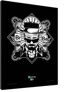 BREAKING BAD - obey heisenberg Afiș înrămat
