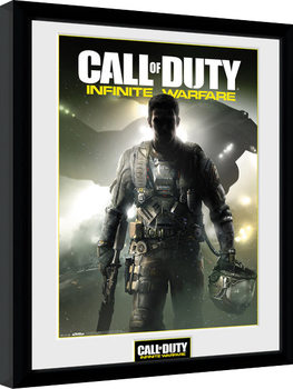 Call of Duty Infinite Warfare - Key Art tablou Înrămat cu Geam