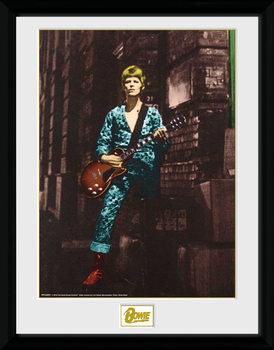 David Bowie - Street tablou Înrămat cu Geam