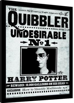 Afiș înrămat Harry Potter - The Quibbler