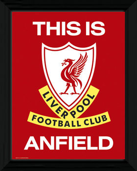 Liverpool - This Is Anfield Afiș înrămat