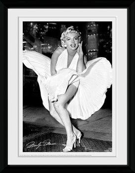 Marilyn Monroe - Times Square tablou Înrămat cu Geam