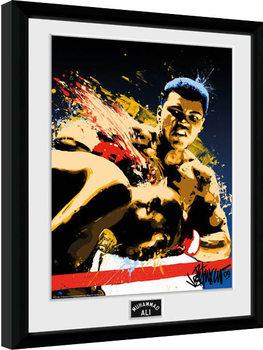 Muhammad Ali – Art 30x40cm Collector Print tablou Înrămat cu Geam
