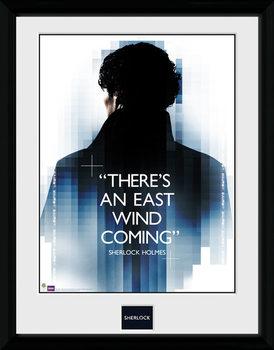 Sherlock - East Wind tablou Înrămat cu Geam