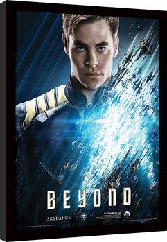 Star Trek Beyond - Kirk tablou Înrămat cu Geam