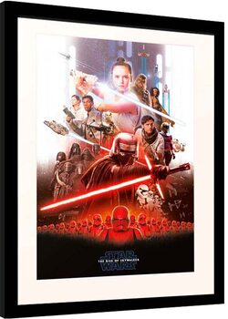 Afiș înrămat Star Wars: Episode IX - The Rise of Skywalker