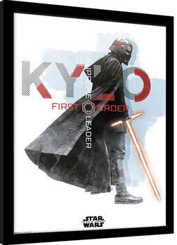 Afiș înrămat Star Wars: Episode IX - The Rise of Skywalker - Kylo Ren
