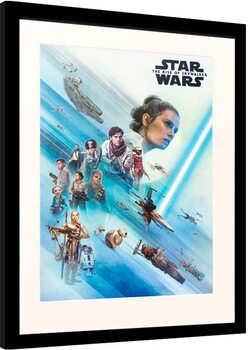 Afiș înrămat Star Wars: Episode IX - The Rise of Skywalker - Resistence