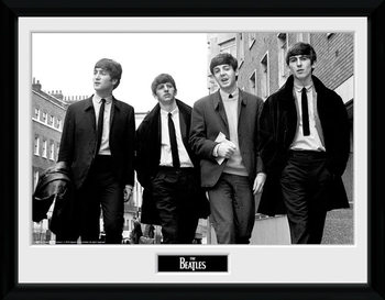 The Beatles - In London tablou Înrămat cu Geam