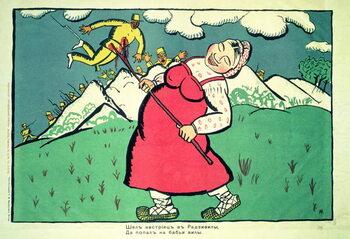 """Tablou Canvas """"An Austrian was going...."""""""