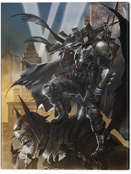 Tablou Canvas Batman - Locked and Loaded