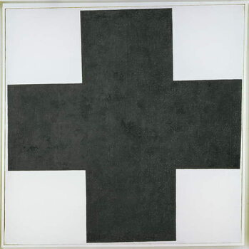 Tablou Canvas Black Cross