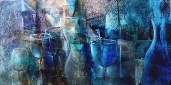 Tablou Canvas Blue curacao