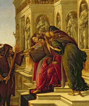 Tablou Canvas Calumny of Apelles, 1497-98 (oil on panel)