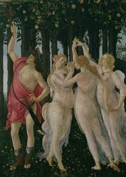 Tablou Canvas Detail of the Three Graces and Mercury